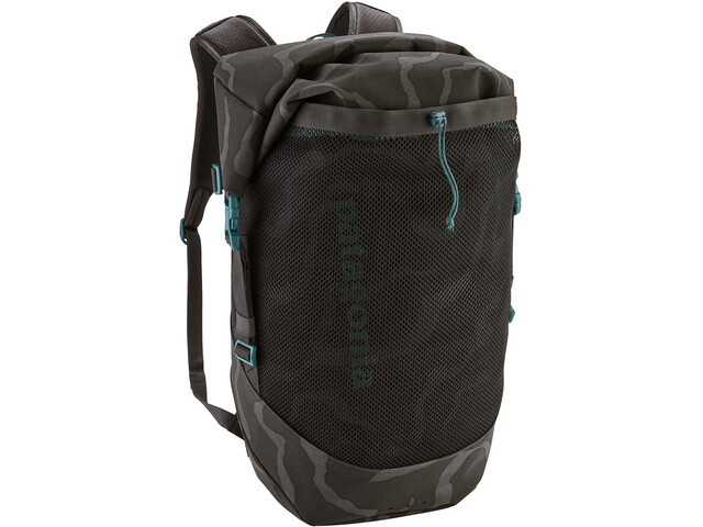 Patagonia Planing Roll Top Pack 35l tiger tracks camo/ink black